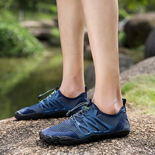 Swimming Shoes, Fashion Couple Models Breathable Shoes Wading Shoes Outdoor Sports Shoes Casual Running Sneakers lkoezi ()