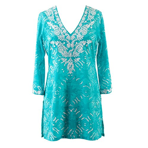 Women's Plus Size Cover-up from Peppermint Bay - Tranquility Tunic
