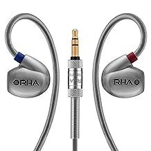 RHA T10 High Fidelity, Noise Isolating In-Ear Headphone