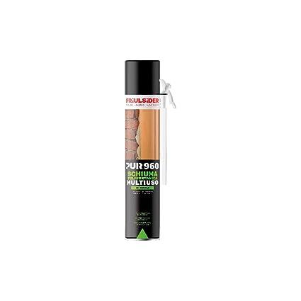 pur960 FRIULSIDER 750 ml Espuma poliuretano resistente se puede pintar Temperatura moho aislante multiusos ladrillo Hormigón