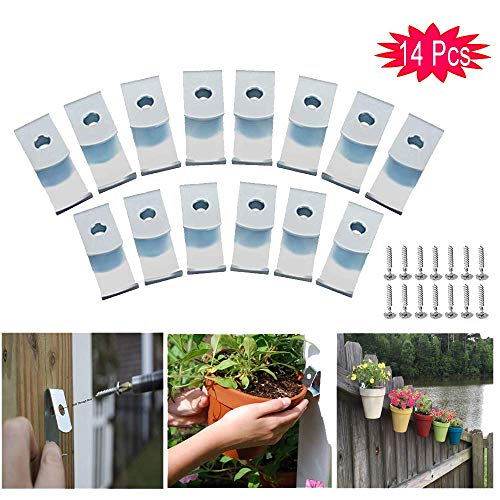 14-Pack Flower Plant Pot Clips Klips Holders Hangers for sale  Delivered anywhere in USA