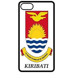 Kiribati - Coat Of Arms Flag Emblem Black Apple Iphone 6 (4.7 Inch) Cell Phone Case - Cover