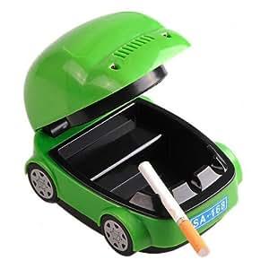 Car Shaped Cigarette Smokeless Ashtray Purifier USB