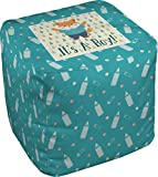 Baby Shower Cube Pouf Ottoman - 13'' (Personalized)