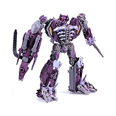 """KO Version"" Transformers Dark of the Moon MechTech Voyager Class Shockwave"