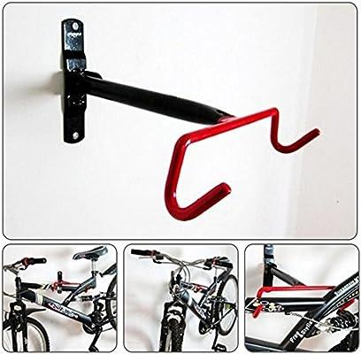 Flower205 bicicleta pared gancho remolque marco 28 * 23 * 4 cm es ...