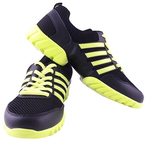 Sneaker Da Ginnastica Fitness - Collezione Nenes - Sneakers Da Danza Serie Leggenda Giallo Neon