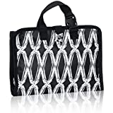 Thirty One Timeless Beauty Bag in Black Links - No Monogram - 3849