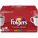 Folgers Classic Roast Coffee (100 K-Cups) (Pack of 3)