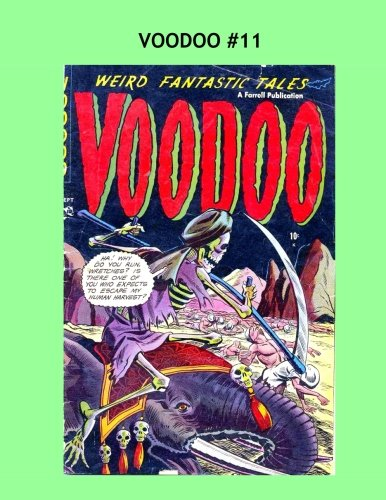 Voodoo #11: Thrilling Tales Of Terror -- All Stories -- No Ads ebook