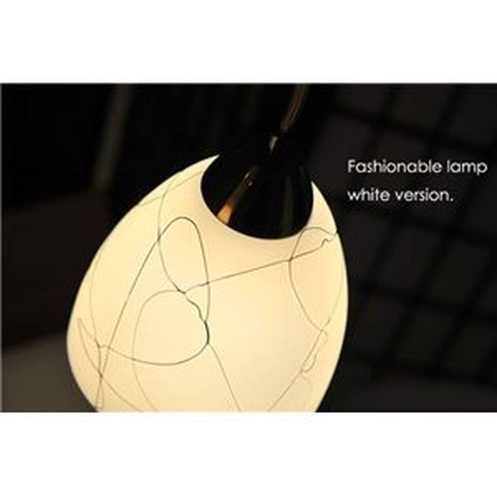 ペンダントライト-吊り下げ型照明器具-ガラス製ホワイト-白--リビング照明/ダイニング照明/キッチン照明-電球別売- B07T88BVZB