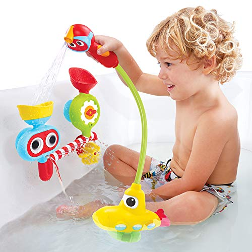 Yookidoo Bath Toy - Submarine Spray Station - Battery Operated Water Pump with Hand Shower and More by Yookidoo (Image #4)