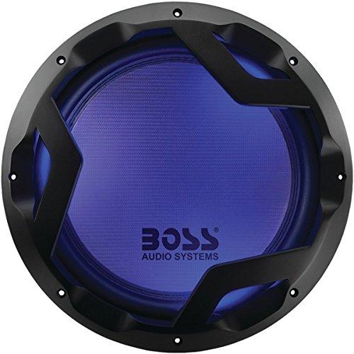 """BOSS AUDIO PD12LED Phantom Series 12"""" 1,600-Watt DVC Subwoofer"""