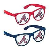 "Baseball Dream Atlanta Braves Printed Glasses Favour, Plastic, 2"" x 6"" x 5""0"
