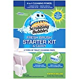 Scrubbing Bubbles Fresh Brush Starter Kit and Caddy 4 Count