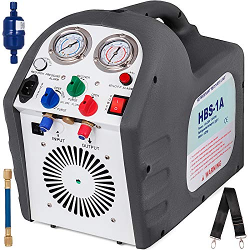 Recovery Machine - Mophorn Portable Refrigerant Recovery Machine 115V AC 60 Hz