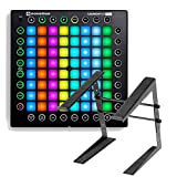 Novation Launchpad Pro USB MIDI Controller for Ableton Live with Laptop Stand