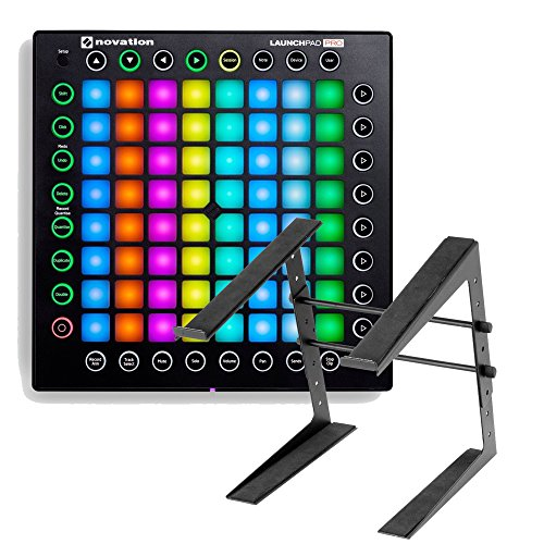 Novation Launchpad Pro USB MIDI Controller for Ableton Live with Laptop Stand by Novation