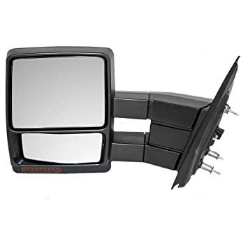 Amazon Com New Left Driver Side Power Tow Door Mirror For 2011 2012
