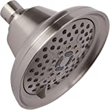 Shower Massage Head With Mist - High Pressure Boosting, Multi-Function, Massager Rainfall Showerhead For Low Flow Showers & Adjustable Water Saving Nozzle - Brushed Nickel