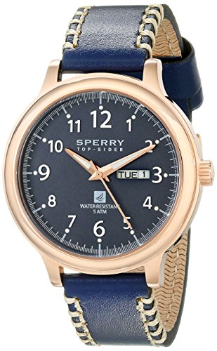 Sperry Top-Sider Men's 10018684 Largo Analog Display Japanese Quartz Blue Watch