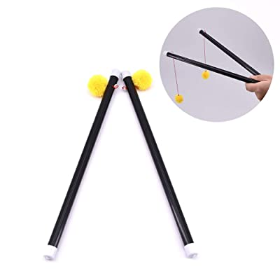 SUMAG Chinese Sticks - Yellow Ball Large Size Magic Tricks for Magician: Kitchen & Dining