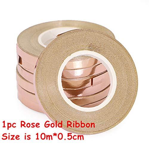 14Pcs Multi Confetti Air Balloons Happy Birthday Party Rose Gold Helium Balloon Decoration Wedding Festival Balon Party Supplies 1Pc Rose Gold Ribbon]()