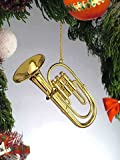 Gold Music Tuba Musical Instrument Ornament NEW