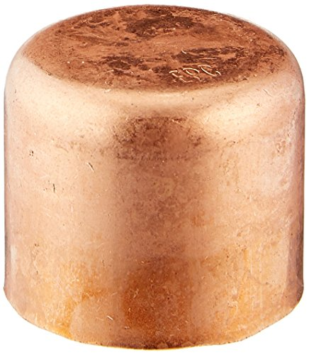 Elkhart 30630 Epc Tube Cap, 3/4 In, Sweat/Solder, Wrot, Copper