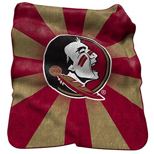 Florida State Seminoles Soft Blanket (Logo Brands NCAA Florida State Seminoles Raschel Throw Blanket)