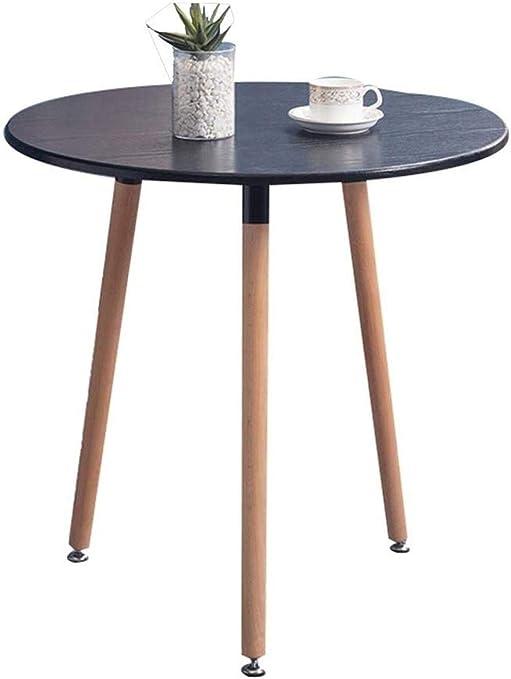 JT- Mesa de té, café Oficina de Mesa de café de Madera pequeña ...