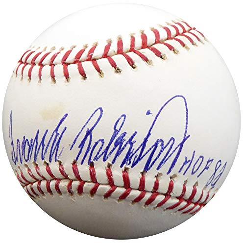 (Frank Robinson Autographed Signed Memorabilia Official MLB Baseball Baltimore Orioles, Cincinnati Reds Hof 82 - PSA/DNA Authentic)