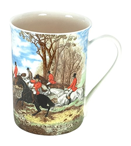 (Fox Hunt Kent Mug - Gracie Teaware Bone China - 12 Oz)