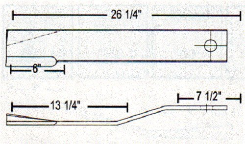 8588 - Servis Rhino Rotary Blade 26 25