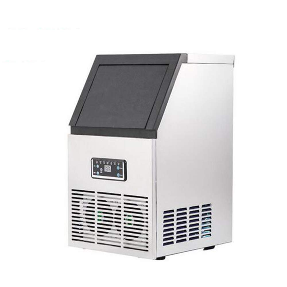 Ice making machine Automatic Cube Ice Maker Large supply of 222222 mm Size Ice Makers for Commercial and Household 40/50/60kg,UK,50kgper24h by MEIBING