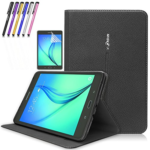 Super Slim Case Cover for Samsung Galaxy Tab A 9.7-Inch Tablet SM-T550 Black - 4