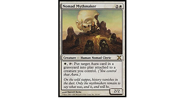Nomad Mythmaker NM MTG 10th Tenth Edition Magic