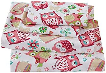 Linen Plus Sheet Girls Flowers