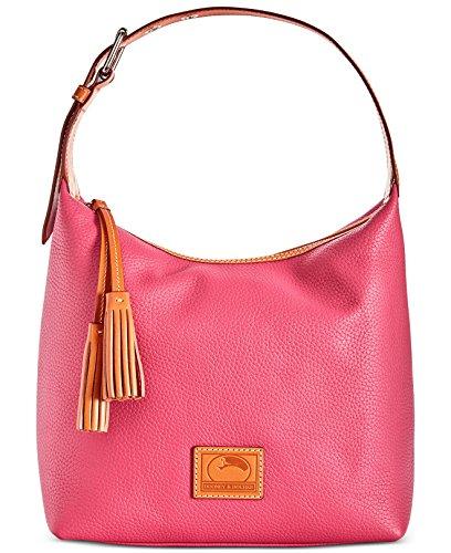 Dooney Sac Hobo amp; Hot Bourke Leather Paige Pink z8BHwzxrq