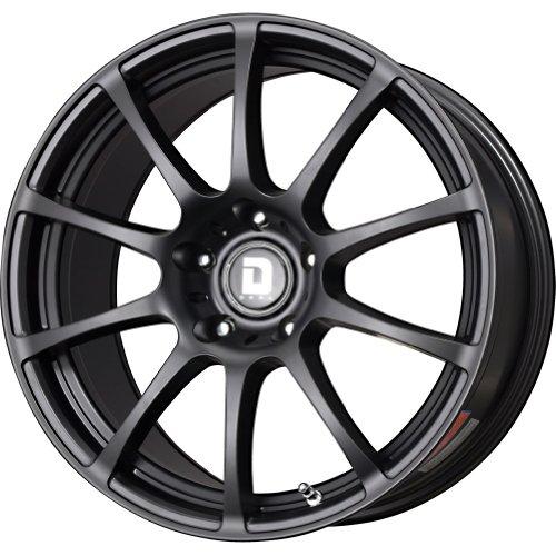 Drag Wheels DR-49 18X9/ 5x114.3 Flat Black Full (Drag Dr 9 Black Wheel)