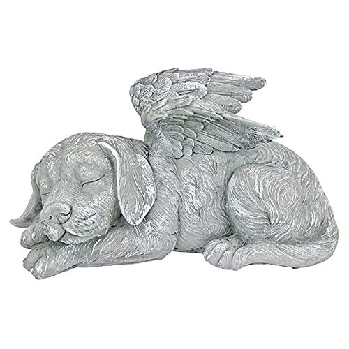 Fenteer Memorial Statue-Schlafen Engel Hund/Katze Erinnerung Andenken Skulptur Grab Marker Stein Figur zu Ehre EIN…