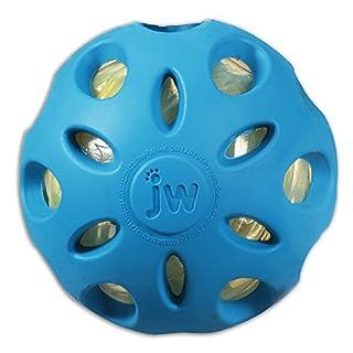 JW Pet Company Crackle Heads Crackle Ball Dog Toy