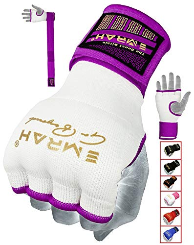 EMRAH Pro Training Ladies Boxing Inner Gloves Hand Wraps MMA Wraps Mitts