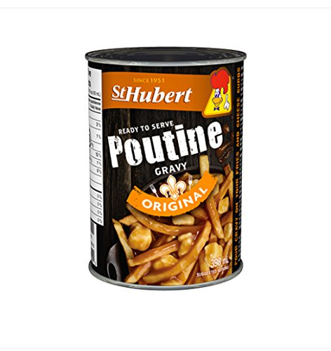 Poutine Gravy - St Hubert - 13.5 Ounce Cans (Pack of 3) | Imported from Canada