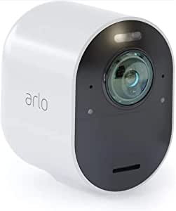 Arlo Ultra-4K UHD Add-on Camera, Colour Night Vision, 180° View, 2-way Audio [Base Station not Included] (VMC5040-100AUS)