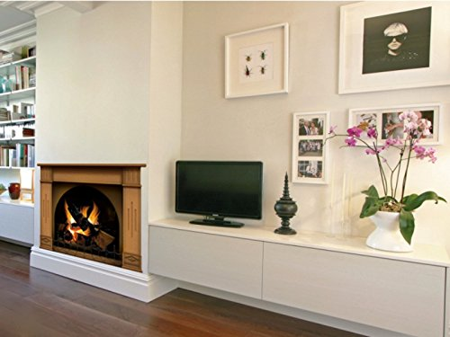 wall decals fireplace - 1
