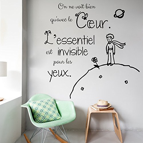 Vinyl Decal Little Prince Quote