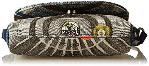 Luna Tracolla cm Gacpu0000108 Gattinoni 4x12x18 x a x Blu W Borsa Donna H L nqwdOOxAYt