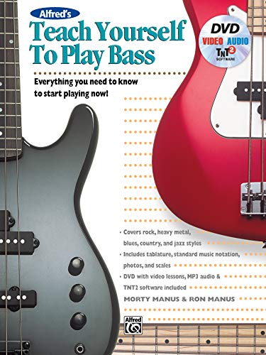 Alfred's Teach Yourself to Play Bass: Everything You Need to Know to Start Playing Now!, Book & DVD (Teach Yourself Series) ()
