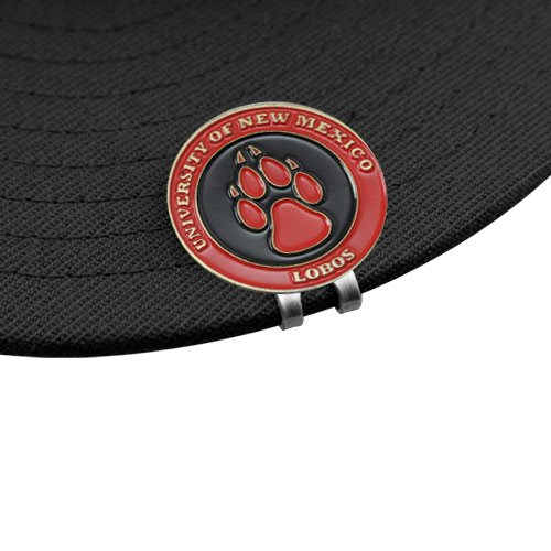 (NCAA New Mexico Lobos Ball Markers & Hat Clip Set)